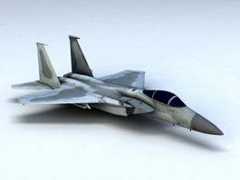 F-15C Eagle Fighter 3d model preview
