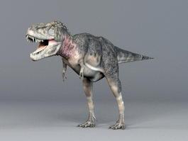 Tarbosaurus Dinosaur 3d model preview