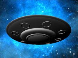 Alien Space Ship 3d preview