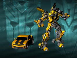 Transformers Bumblebee 3d preview