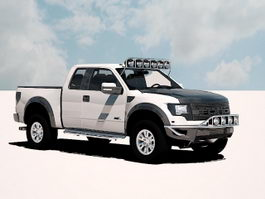 Ford F-150 SVT Raptor 3d preview