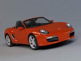 Porsche 718 Boxster 3d preview
