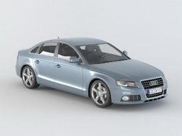 Audi A4 3d model preview