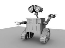 WALL-E Robot 3d preview