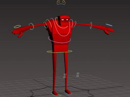 Bee-Boy Rig 3d preview