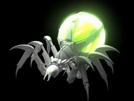 Mecha Spider 3d preview