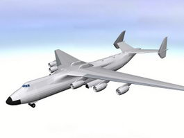 An-225 Mriya 3d preview