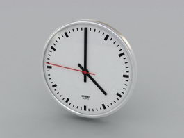 Designer Wall Clock 3d preview
