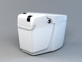 Intelligent Toilet 3d preview