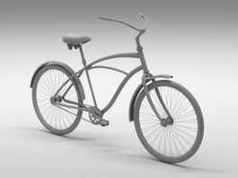 Retro Bike 3d preview