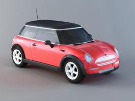 Mini Cooper Hatch 3d preview