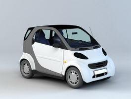Smart Car 3d preview