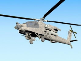 Longbow Apache Attack Helicopter 3d preview