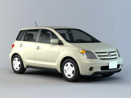 Toyota Matrix Hatchback 3d preview