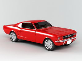 Ford Mustang 3d preview