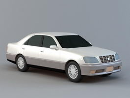 Toyota Crown Sedan 3d preview