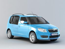 Skoda Roomster 3d preview