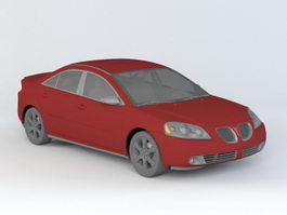 Pontiac G6 Sedan 3d preview
