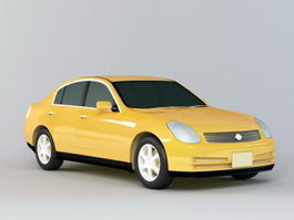 Nissan Altima Sedan 3d preview