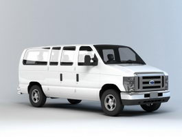 Ford Minibus 3d preview
