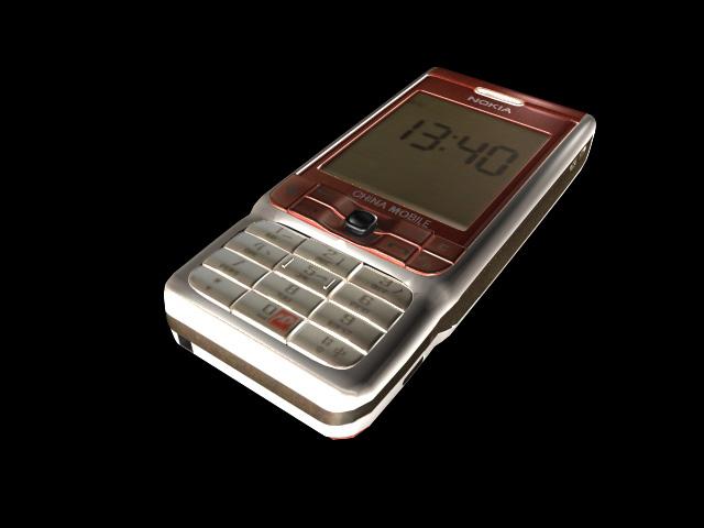 Nokia 3230 3d rendering