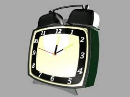 Old Alarm Clock 3d model preview
