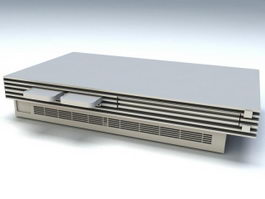 PlayStation 2 Console 3d model preview