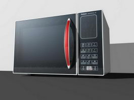 Microwave Oven 3d model preview