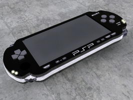 PSP-2000 3d preview
