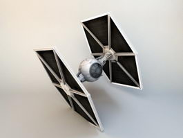Star Wars Tie Fighter 3d preview