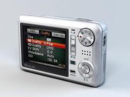 Casio Exilim EX-V7 Digital Camera 3d preview