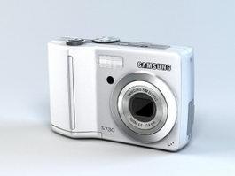 Samsung S730 Digital Camera 3d model preview