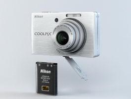 Nikon Coolpix S500 3d model preview
