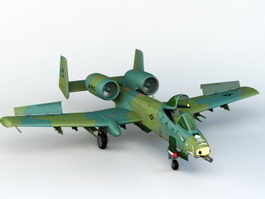 A-10 Thunderbolt 3d preview
