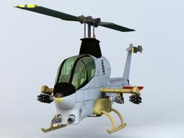 Bell AH-1Z Viper 3d preview
