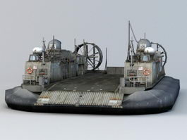 Landing Craft Air Cushion 3d preview
