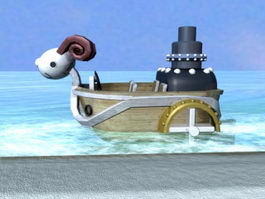 Going Merry 3d preview