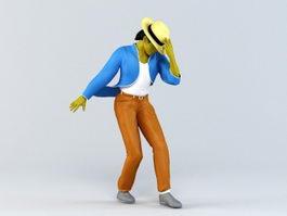 Michael Jackson 3d preview