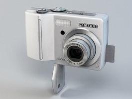 Samsung Digimax S630 Digital Camera 3d preview