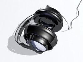 Big Studio Headphone 3d model preview
