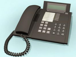 Office Telephone 3d preview