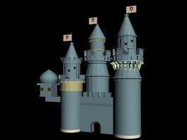 Medieval Castle 3d preview