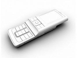 Slide Cell Phone 3d model preview