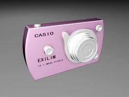 Casio Exilim Digital Camera 3d preview