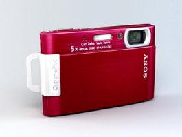 Sony Cybershot DSC-T200 Digital Camera 3d preview