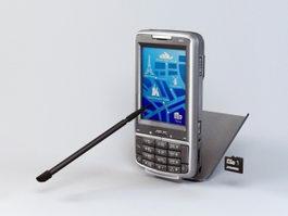 Asus P526 PDA Phone 3d preview