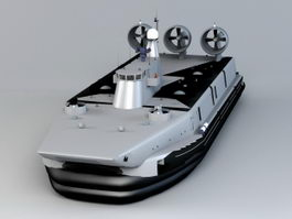 Zubr-class LCAC 3d preview