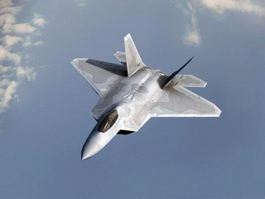F22 Fighter Jet 3d preview