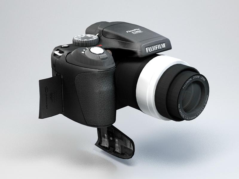 Fujifilm FinePix S5800 Digital Camera 3d rendering