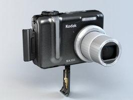 Kodak Z885 Camera 3d preview